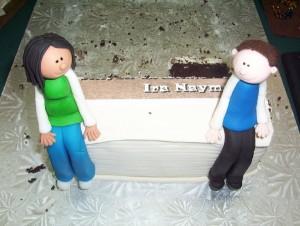 Ira's cake goes down well