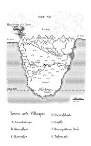 Map by Peter R. Ellis Artwork: Alison Buck