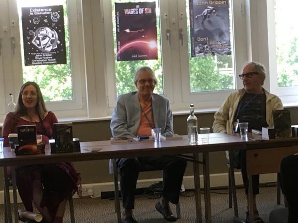 Launch with Zoë Sumra, Peter R. Ellis, John Gribbin